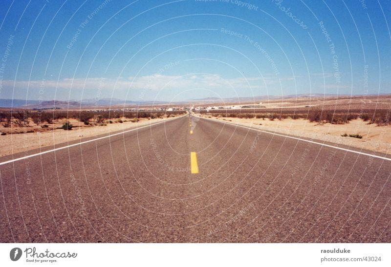 Sun Street Warmth Transport USA Physics Highway Nevada Las Vegas