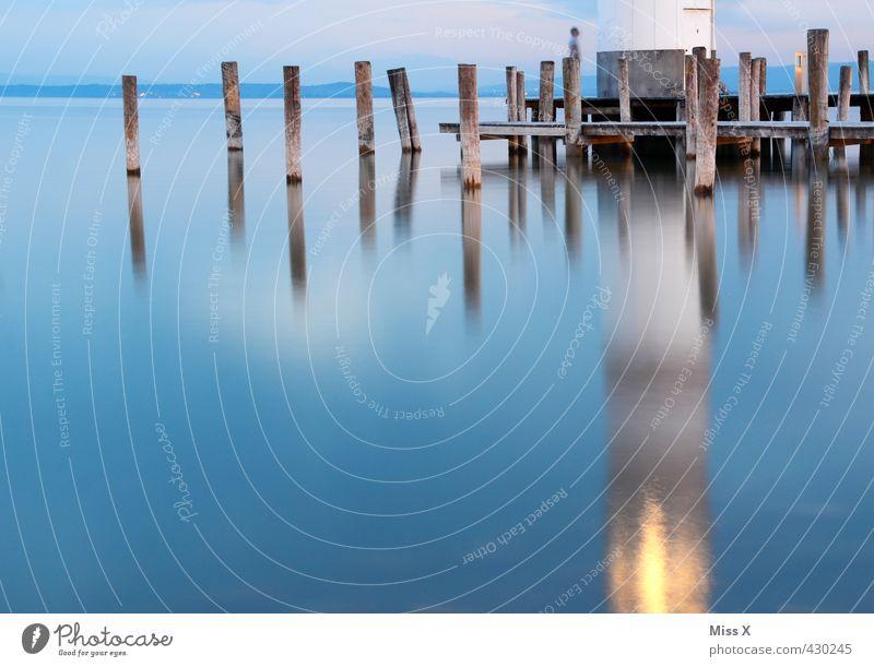 Vacation & Travel Water Ocean Calm Far-off places Coast Lake Horizon Illuminate Lakeside Harbour Bay Manmade structures Baltic Sea North Sea Navigation