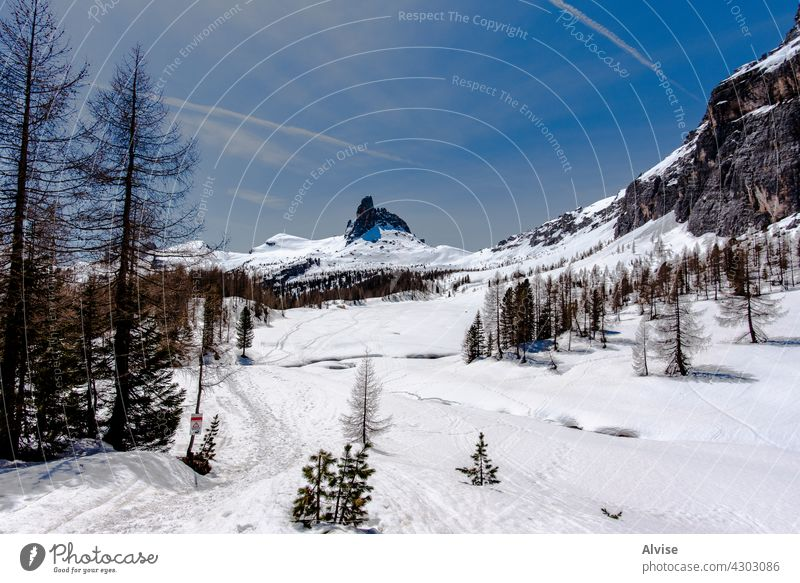 2021 05 08 Cortina snow and dolomites nature mountain winter italy cold landscape rock snowy peak white europe alps sky travel alpine view outdoors vacation