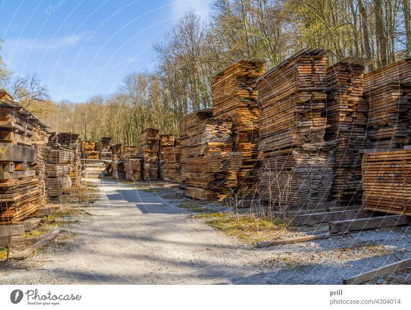 stacked wooden boards lumber timber planks wooden planks pile sunny sawmill lumber mill industrial sliced flitches trimmed drying lumber yard wood drying