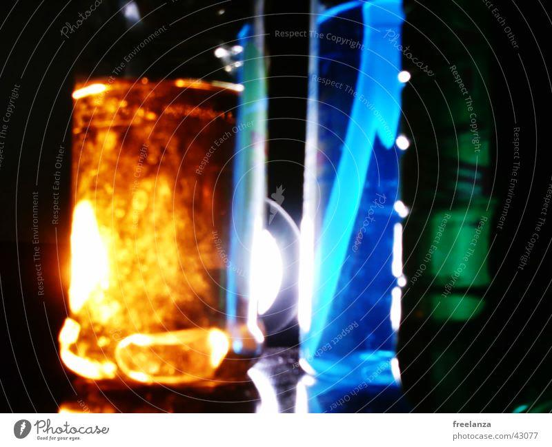 Lights_1 Green Detergent Hose Obscure Colour Orange Blue