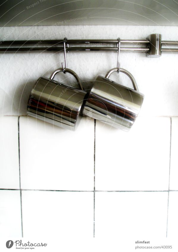 Kitchen Tile Cup Household Aluminium Checkmark