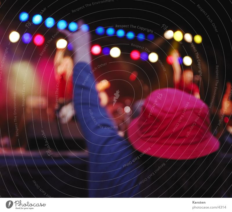 Human being Music Concert Rock music Hat Stage Fan Music festival