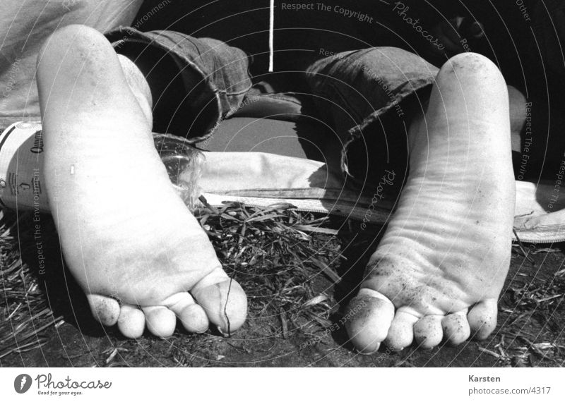 feet Tent Camping Leisure and hobbies Sleep Barefoot Human being Feet