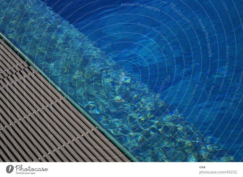 Water Blue Summer Swimming pool Leisure and hobbies Diagonal Edge Rod Chlorine