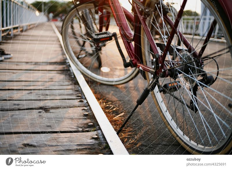 bicycle parking in the side road bike city sport travel transport person wheel ride transportation vehicle urban lifestyle street frame health background