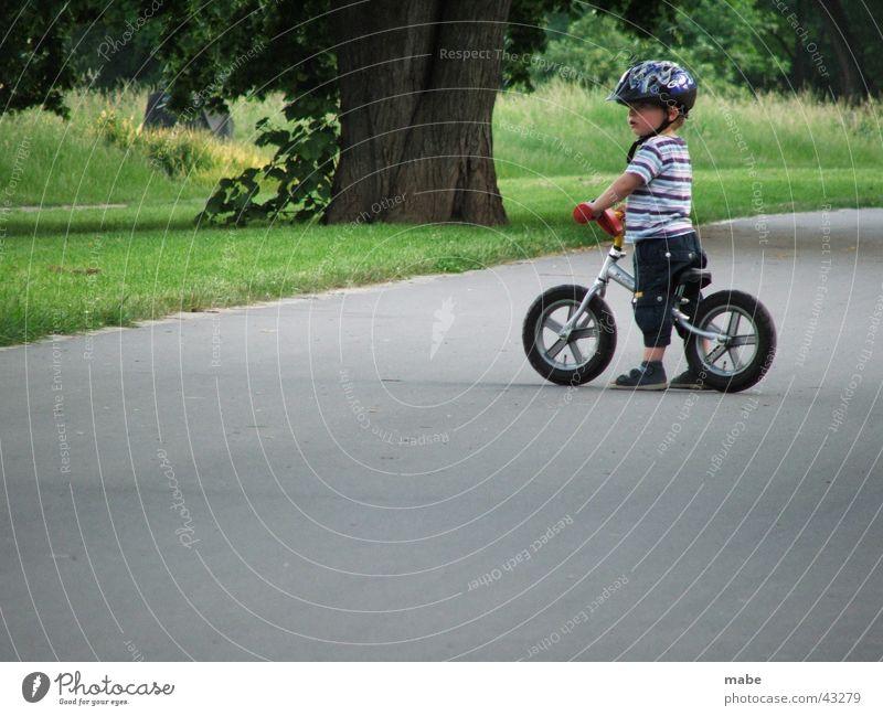 Child Man Street Bicycle