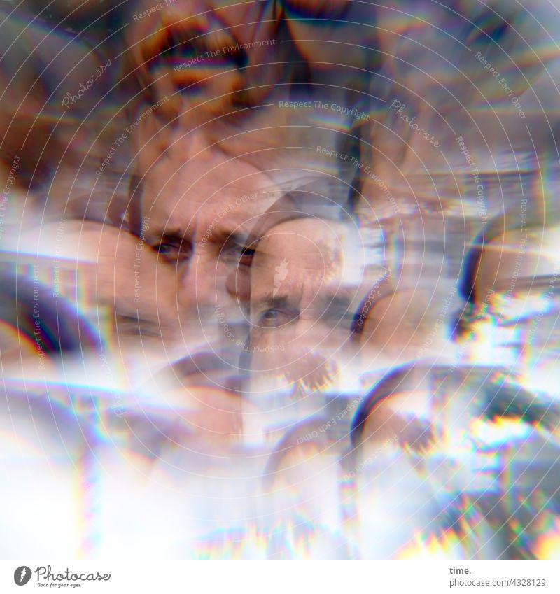 ParkTourHH21   Multifux Man Looking Prism effect Lighting effect multiple Facial hair Deferred distortion Postponement optical illusion