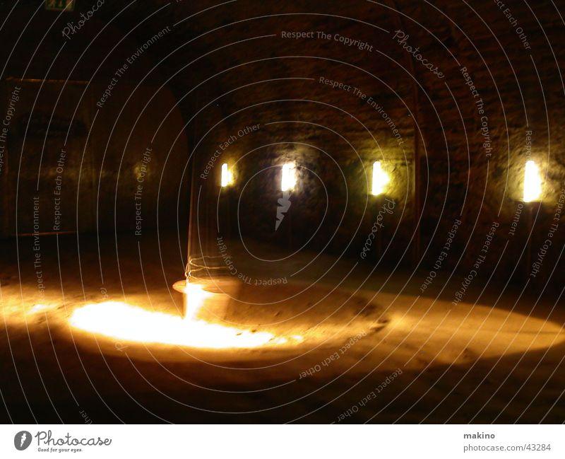 pendulum swinging Light Circle Speed Architecture Room Stone Rock Sand Shadow Pendulum Wing Movement