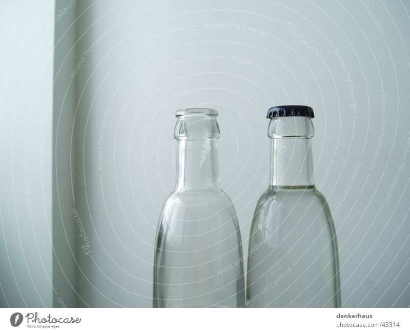 Water White Wall (building) Exceptional 2 Glass Open Empty Things Simple Closed Beverage Transparent Considerable Bottle Alcohol-fueled
