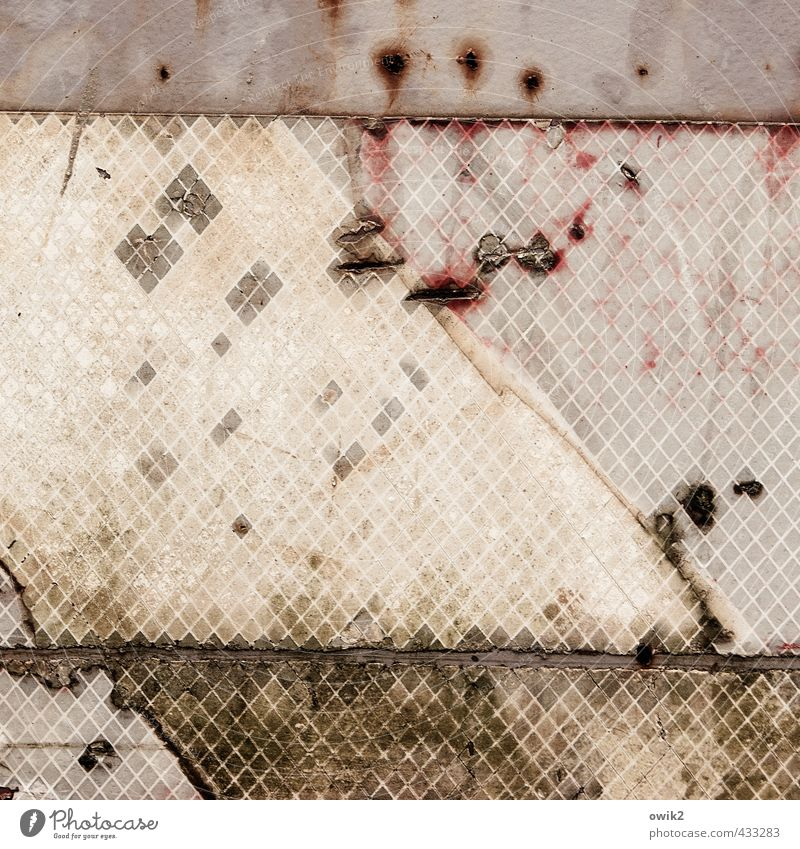Metal Gloomy Simple Sign Plastic Tracks Derelict Part Rust Trashy Patch Unclear Morbid Ravages of time