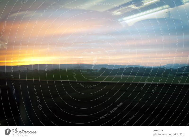 Sky Nature Landscape Environment Lanes & trails Exceptional Transport Climate Future Target Train travel