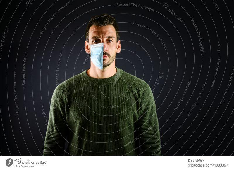 Mask compulsory or not corona None Mask obligation pandemic Normality Protection abolition Respirator mask convalescence Immunity vaccinated coronavirus half