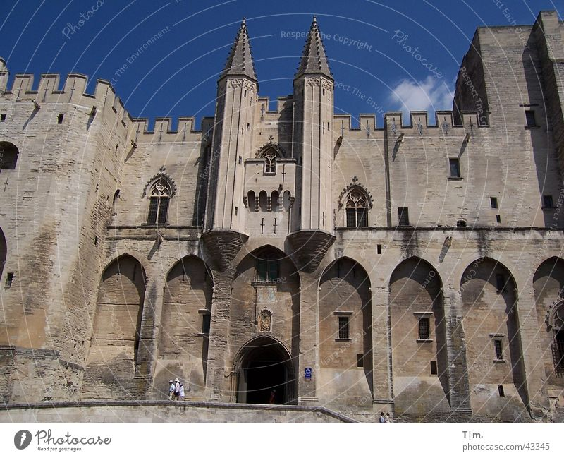 Pope's Palace in Avignon France House of worship Pope palace Southern France