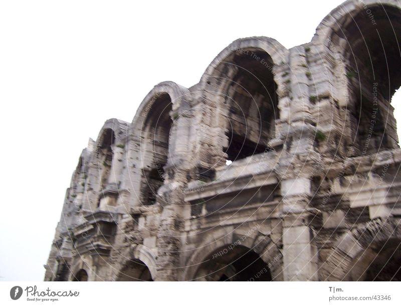 Architecture France Römerberg Amphitheatre Arles