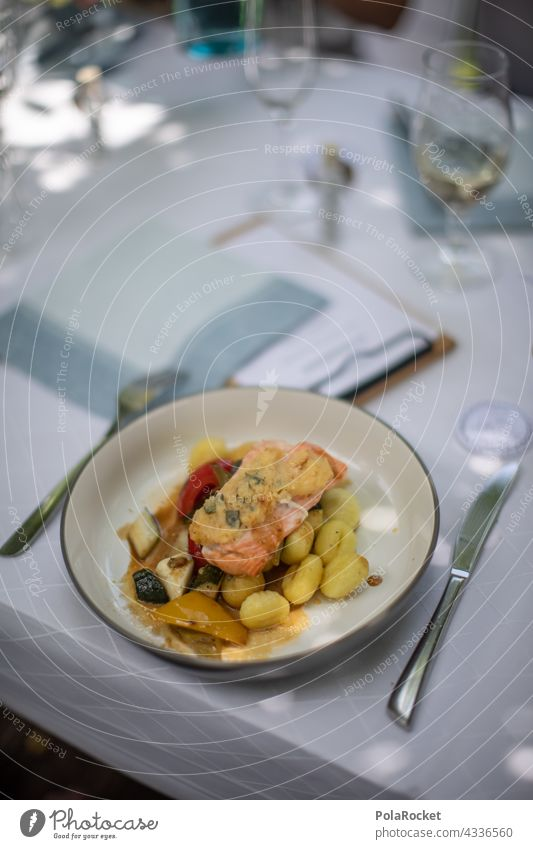 #A# Plate of fish Wedding Fish Salmon Organic produce Lunch Colour photo Nutrition Food Vegetarian diet Healthy Eating Delicious trip to Italy Italian recipe