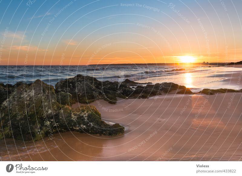 ...summertime blues Vacation & Travel Tourism Freedom Summer Summer vacation Sun Sunbathing Beach Ocean Waves Landscape Solar eclipse Sunrise Sunset Sunlight