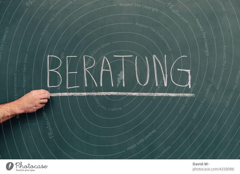 Advice - word on a blackboard Word Blackboard Chalk Help Write Information centre Education School Study assistance
