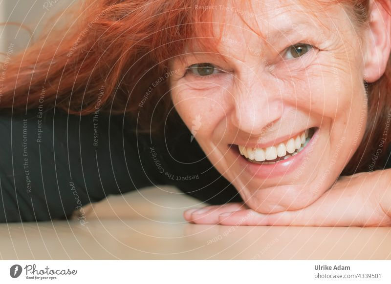 Joie de vivre - Laugh again 😉 Laughter Joie de vivre (Vitality) Smiling Happiness Happy Joy Contentment Human being Feminine portrait Woman