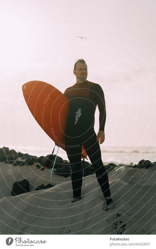 #AS# Surfer Dude Surfing Surfboard Surf school Surfers Paradise Fuerteventura Canary Islands Aquatics Extreme sports Ocean Waves Beach coast Sports