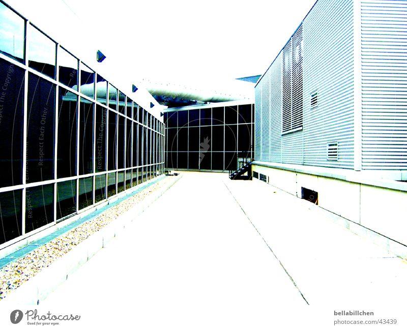 escape route Frankfurt Loneliness Architecture Lanes & trails Corridor