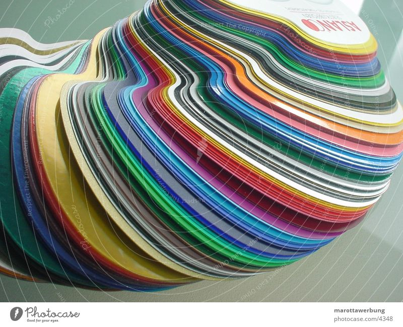 Colour Industry Production Packing film Colour Guide