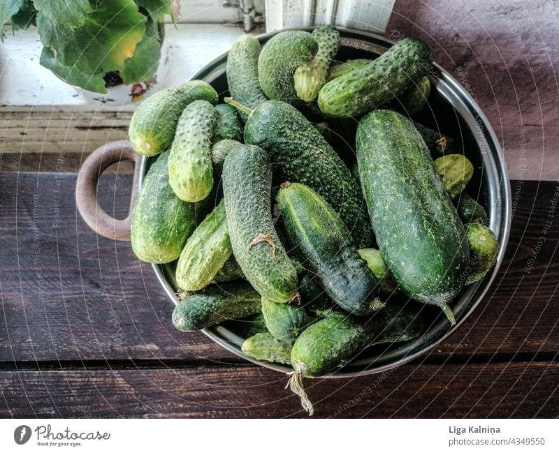 Cucumbers Pickles Vegetables Green green food organic vegetables Organic produce Fresh Healthy Eating Raw vegetables Vegan diet Nutrition Vegetarian diet