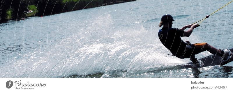 Water Sports Waves Wet Speed Rope Wooden board Pull Inject Neoprene