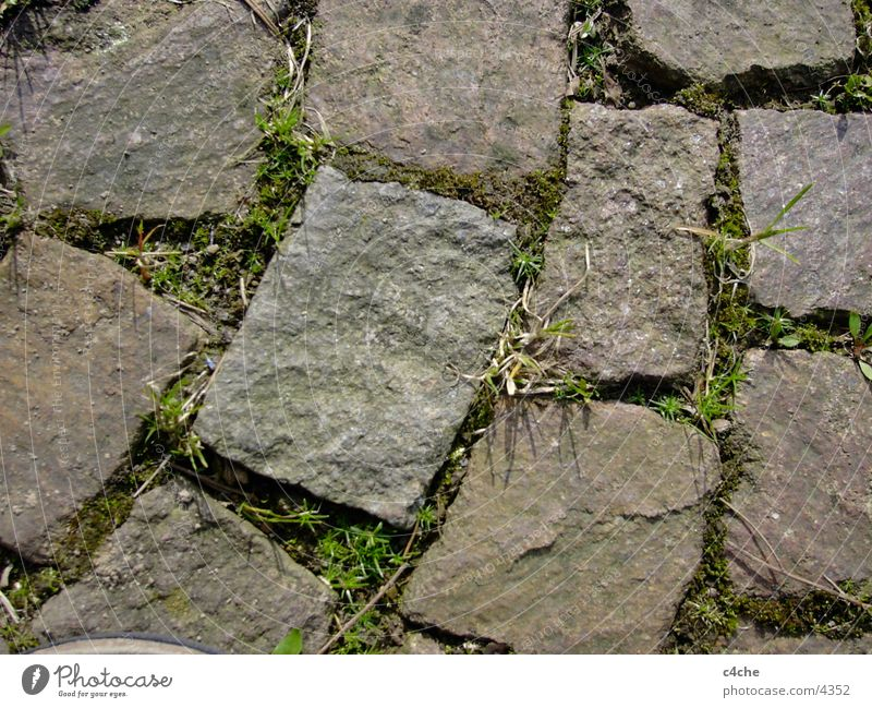 Paving stones Structures and shapes Stone Cobblestones Nature