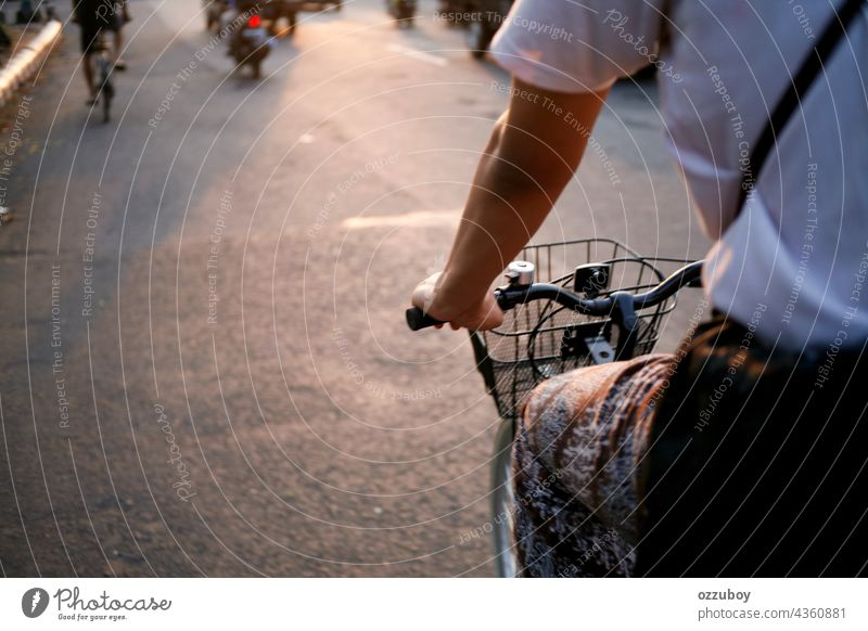 cyclist on the side of street person bike outdoor sport bicycle cycling activity road ride healthy lifestyle biking bicyclist exercise exercising transport