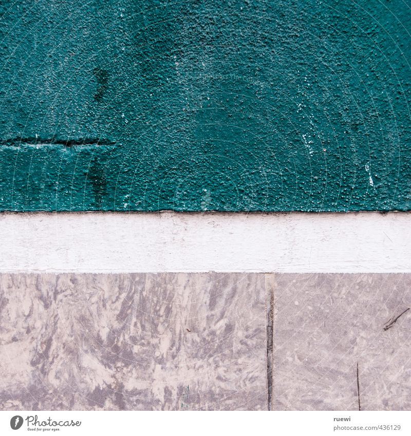 wall Living or residing Construction site Wall (barrier) Wall (building) Facade Stone Build Old Esthetic Sharp-edged Simple Firm Near Gray Turquoise White