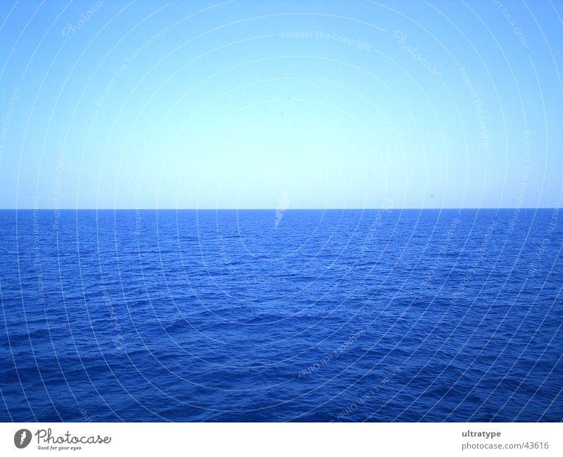 Balearic Sea Ocean Waves Lake Horizon Summer Vacation & Travel Water Sky Blue Graffiti