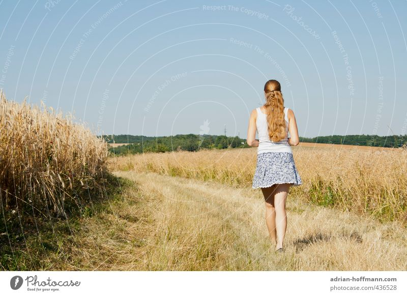 summer walk Joy Happy Leisure and hobbies Vacation & Travel Tourism Trip Far-off places Freedom Summer Summer vacation Sun Hiking Human being Feminine