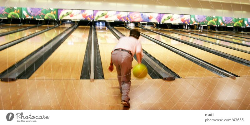 Far-off places Sports Railroad Action Sphere Throw Bowling Nine-pin bowling