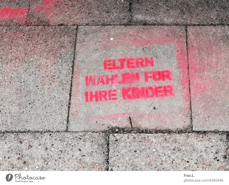 Electoral Behaviour Elections Federal elections Future Roll call Graffiti Footpath Democracy Decide Government paving stone Responsibility Select Climate Change