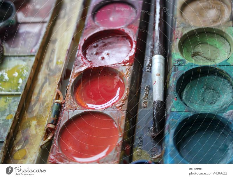 Colour Water Red Art Pink Orange Design Esthetic Wet Creativity Culture Painting (action, artwork) Plastic Education Turquoise Kindergarten