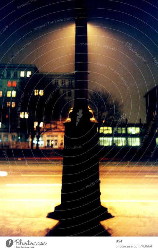 limelight Street lighting Night Dark Fear Obscure Berlin