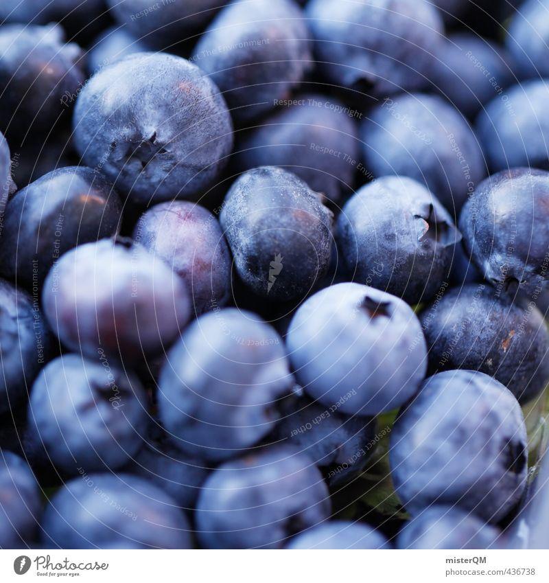 Heidelblau. Environment Nature Landscape Esthetic Food Blueberry Fruit Fruit bowl Breakfast Healthy Vitamin-rich Many Delicious Appetite Berries Colour photo