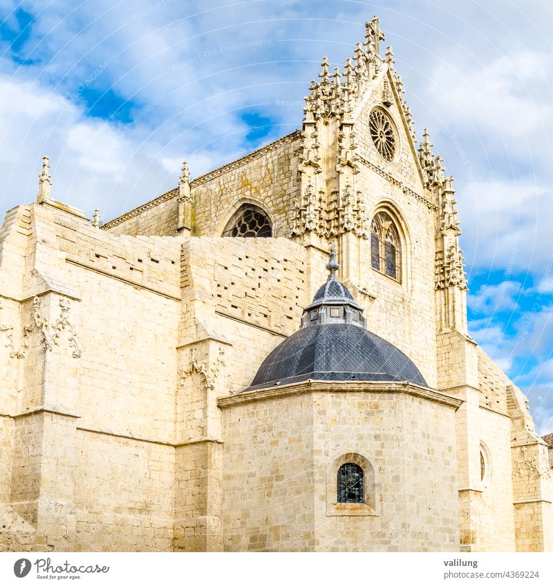 Cathedral of Palencia, Spain Castile Castile and Leon Castilla y Leon Catholic Europe Gothic Spanish architecture building cathedral church culture exterior