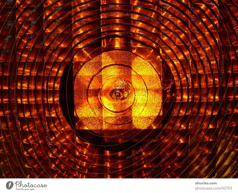 [:::orange:::] Breakage Design Visual spectacle O Physics R Warning light Electrical equipment Technology abstract Train station de Germany elliptical Plastic N