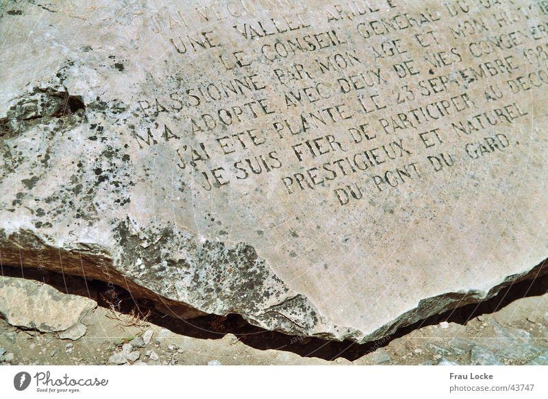Stone tablet Rome Stone slab France Historic Römerberg Porte des Gaules