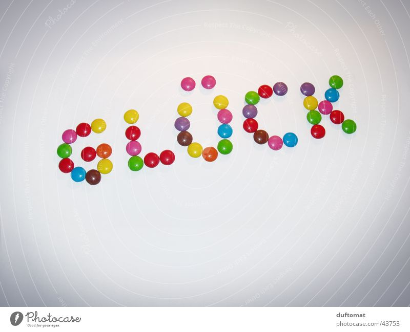 Joy Colour Happy Keyword Nutrition Characters Sweet Letters (alphabet) Candy Delicious Typography Chocolate Word Graphic Isolated Image Symbols and metaphors