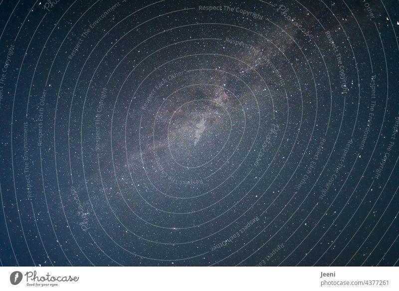 Interspaces   between Earth and Milky Way Night Sky Starry sky Starlit Star cluster Milky way stars Canopy of stars Light Stars Night sky Universe Infinity