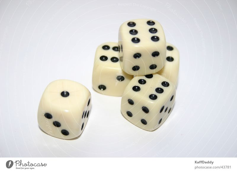 Playing Dice Leisure and hobbies 6 Kniffel