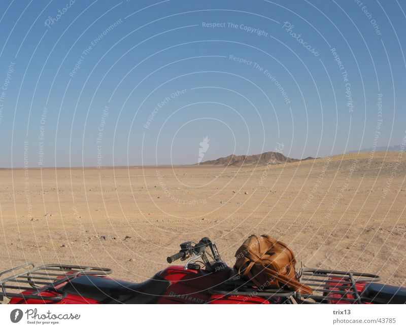 Sky Blue Red Vacation & Travel Sand Brown Desert Africa Safari Egypt Buggy (Motorbike) Hurgahada Red Sea