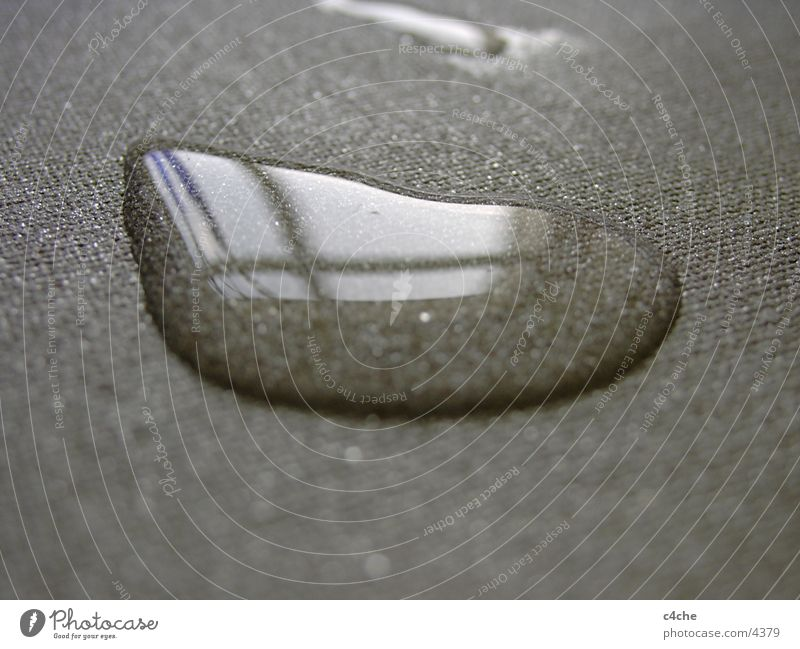 water drops Near Reflection Light Gray Thread Things Water Drops of water fabric base