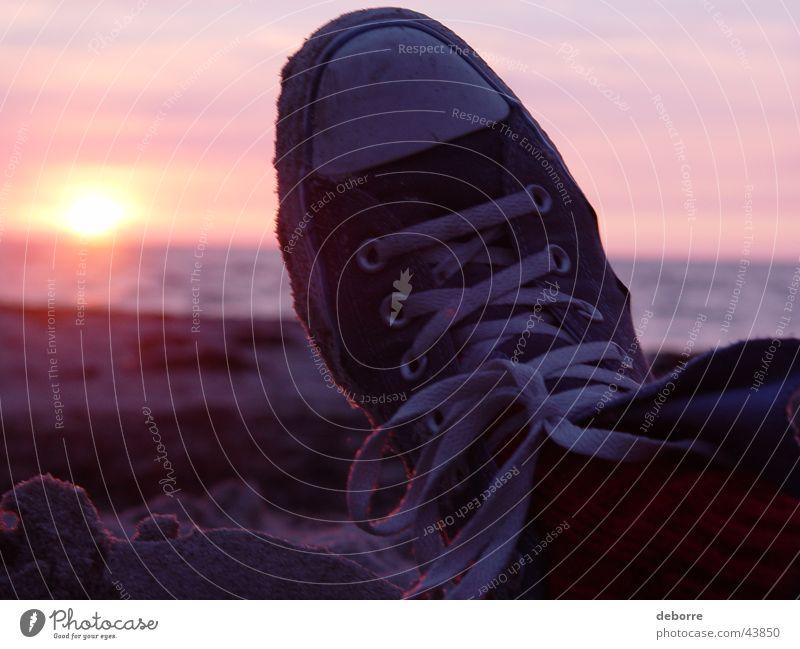 Water Sky Sun Ocean Beach Vacation & Travel Calm Clouds Feet Sand Footwear Chucks Denmark