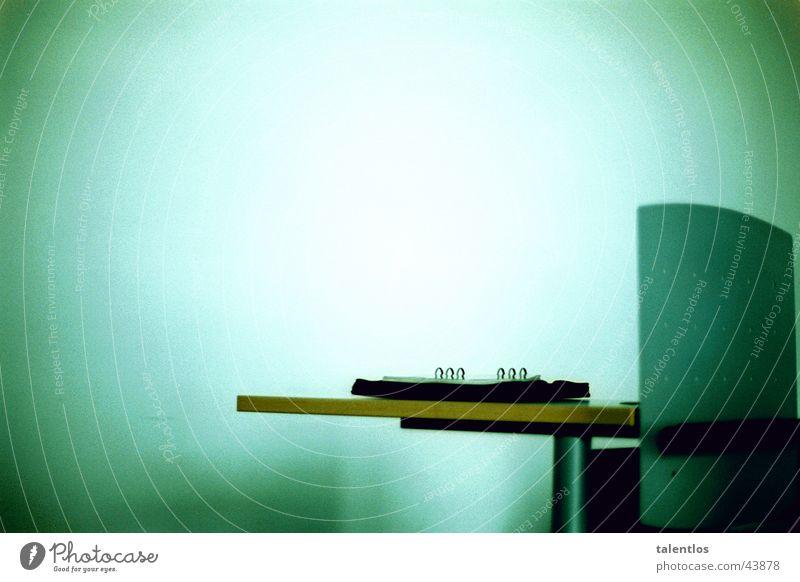 White Green Blue Office Speaker Lectern