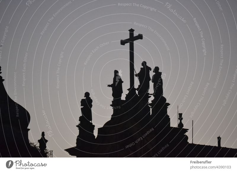 Sculptures depicting saints or holy persons are an important part of Christianity church catholic white faith pray religion christ chritianity symbol
