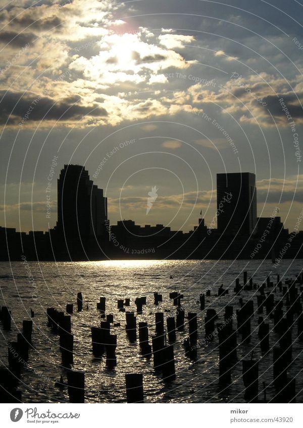 Architecture USA New York City Body of water Tombstone Ground Zero
